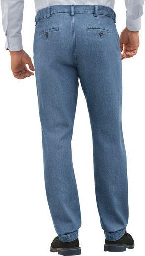 Catamaran Jeans With Infinitely Adjustable Collar