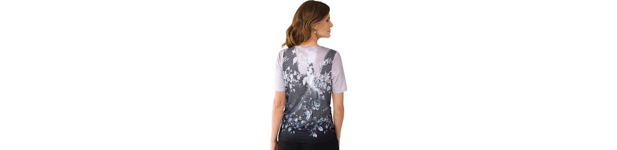 Lady Shirt im modernen Muster-Mix  Spitzenreiter Sammlungen Günstiger Preis Günstigste Preis Verkauf Online Bestseller iHGqO
