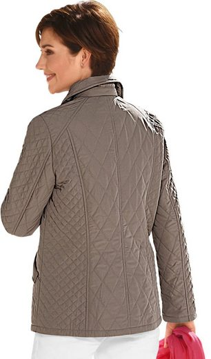 Classic Inspirations Jacket With Small And Large Diamond Quilting