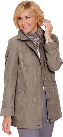 Jacke in wind- und wasserabweisender Micro-Moss-Qualität