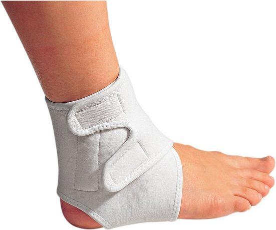 Magnet-Fußknöchelbandage mit verstellbarem Klettverschluss