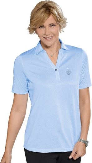 Polo Shirt With Elaborate Decoration