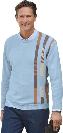 Marco Donati Pullover mit mehrfarbigen Jacquard-Streifen