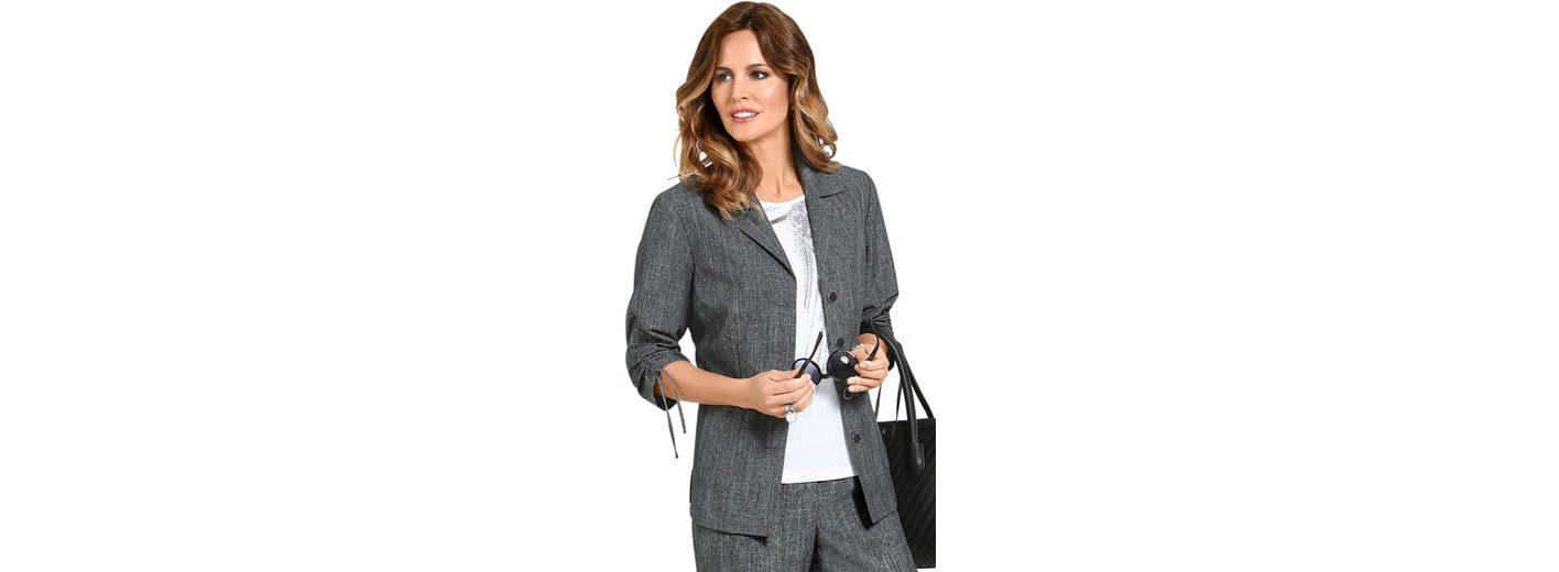Lady Blusenblazer mit lässigen Raffungen Offizielle Online Kaufen Angebot Billig Einkaufen Wahl Verkauf Online vq53o