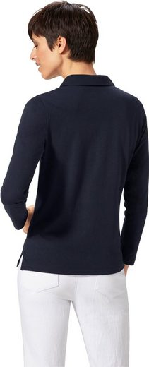 Shirt mit 2-in-1-Einsatz am Kragen