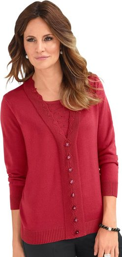 Classic Inspirationen Pullover in 2-in-1-Optik