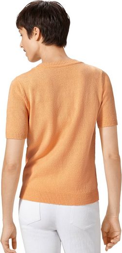 Pullover mit Blütenstickerei rund um den Ausschnitt