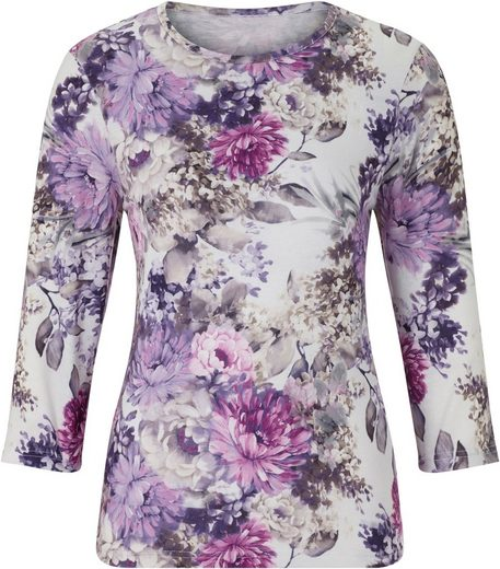 Shirt In Floral Allover Print