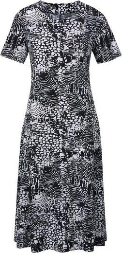 Jersey-Kleid in Koffer-Qualität