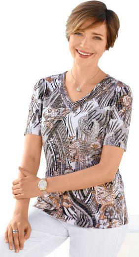 Shirt mit ausdrucksstarkem Druckmotiv