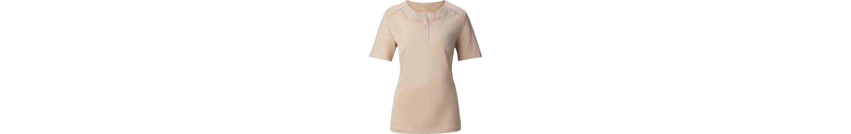 Beste Authentisch Shirt in überzeugender Superjersey-Qualität Verkauf Erkunden Komfortabel Günstig Online Günstig Kosten B1wJMZJM