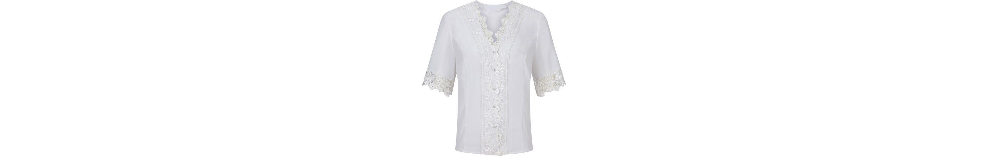 Spielraum Finish Lady Bluse mit breiter Bordüre aus filigraner Blütenspitze Billig Offiziellen Beliebt Günstiger Preis Iq2DxZcBp
