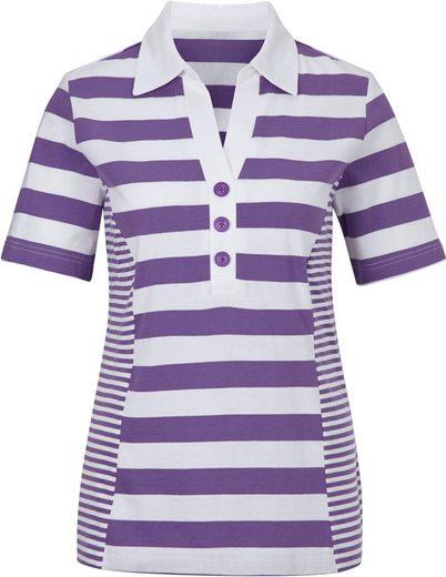 Collection L. Shirt mit Zierknöpfen