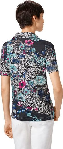Polo Shirt In Floral Jeans