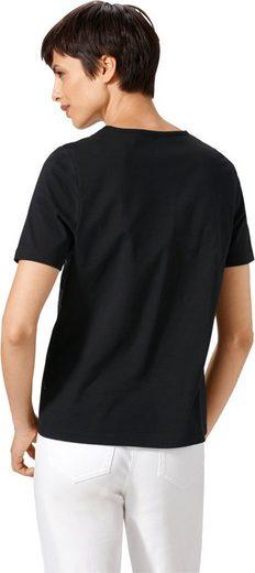 Shirt With Discreet, Platziertem Dessin