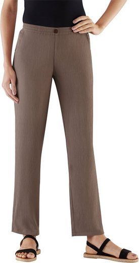 Slip Trousers With Creases (2 Pcs.)