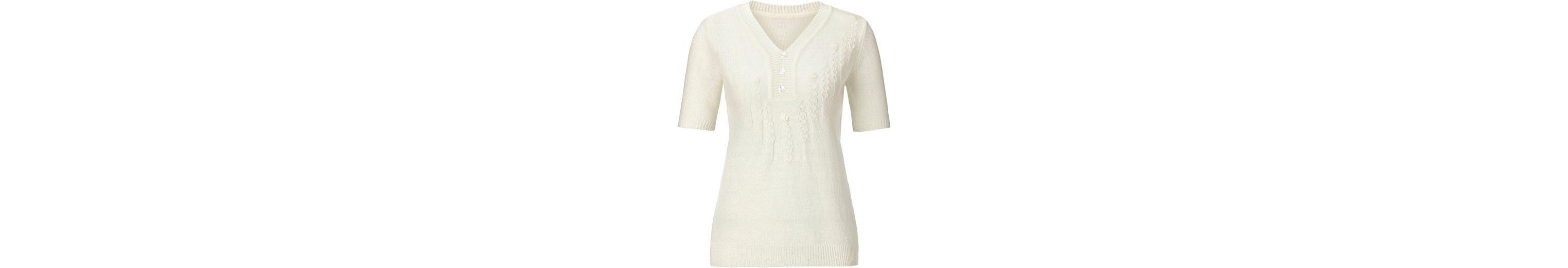 Pullover mit Blütenstickerei rund um den Ausschnitt Erstaunlicher Preis Günstiger Preis k6Kmp