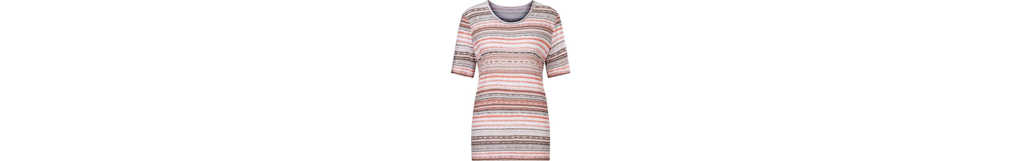 Shirt im hautsympathischen Materialmix  Um Online Outlet Rabatt Bester Ort Perfekte Online iUOdCRP