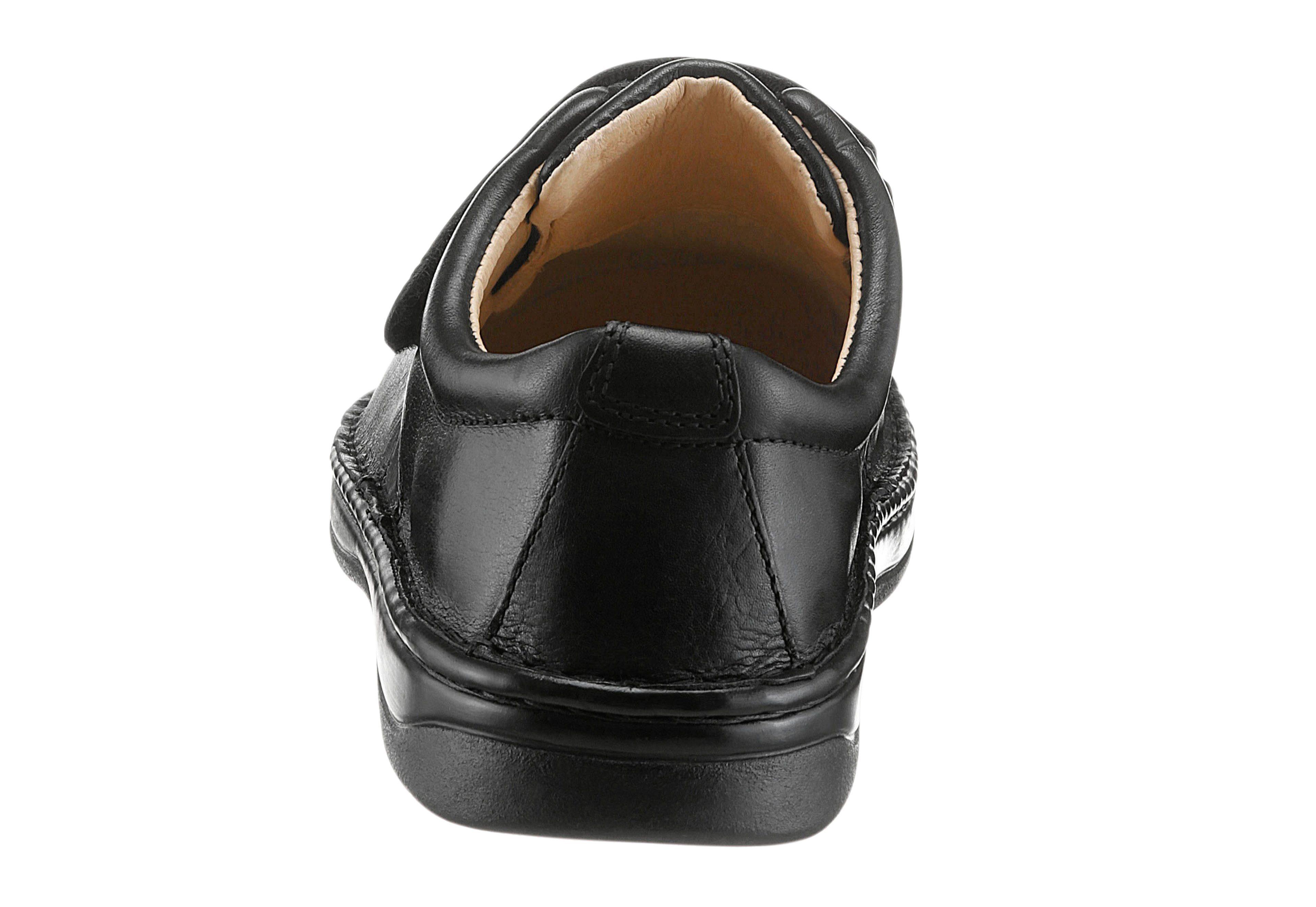 Classic Klettschuh mit 5-Zonen-Fußbett kaufen  schwarz