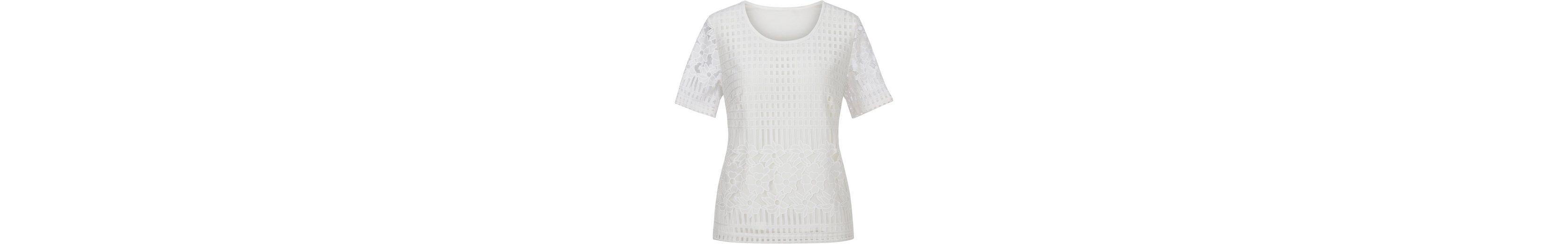 Lady Shirt mit verschiedenen Spitzen-Partien Gut Verkaufen Online Neue Ankunft Günstiger Preis Visa-Zahlung Verkauf Online 2018 Neuer Günstiger Preis BHoq5x
