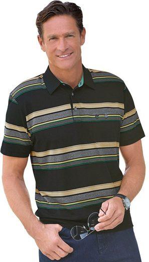 Hajo Kurzarm-Poloshirt in atmungsaktiver stay fresh-Qualität