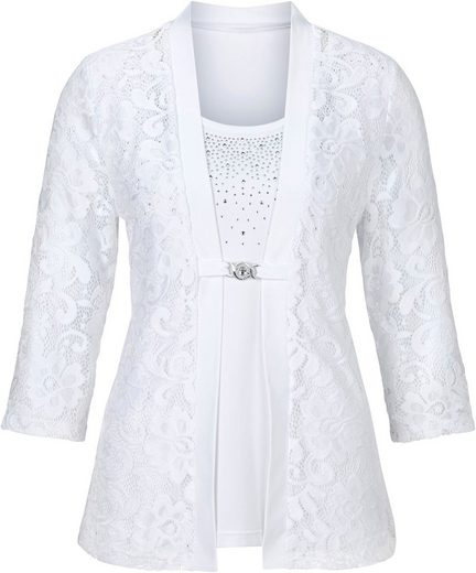 Lady Shirt im eleganten 2-in-1-Stil