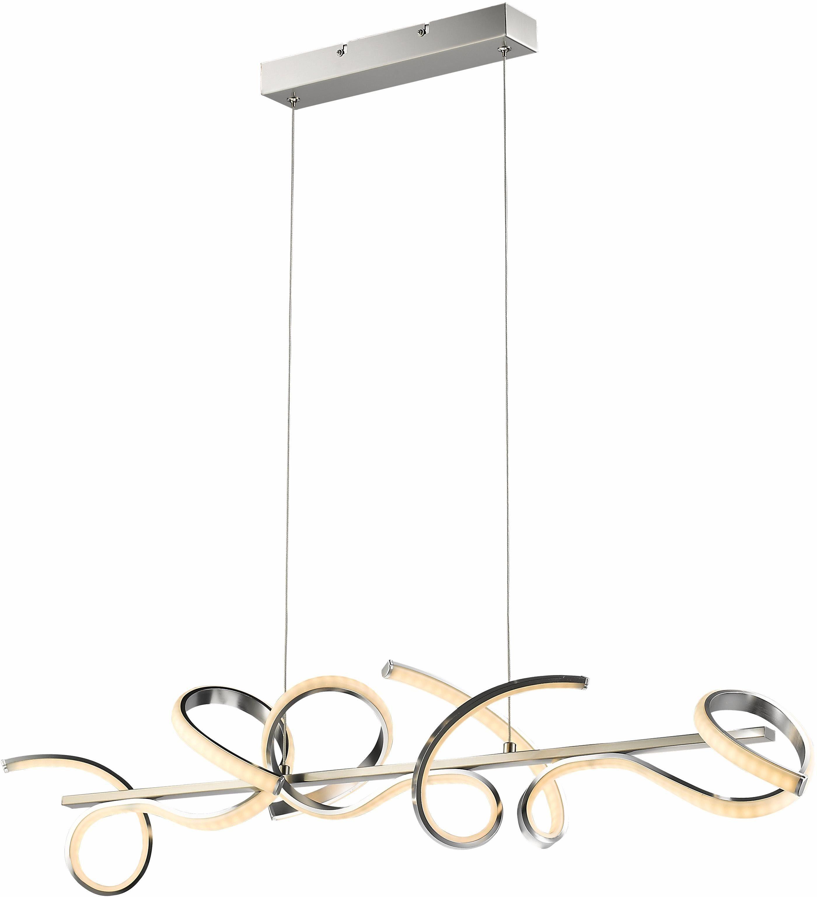 TRIO Leuchten LED Pendelleuchte »MESSINA«