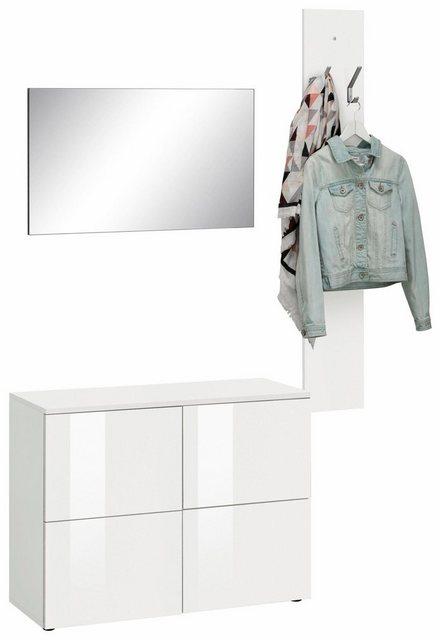 Garderoben Sets - borchardt Möbel Garderoben Set »Rova«, (Set, 3 tlg)  - Onlineshop OTTO
