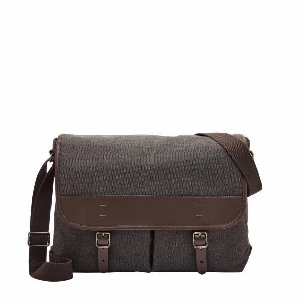 Fossil Messenger Bag »BUCKNER«, mit praktischer Einteilung