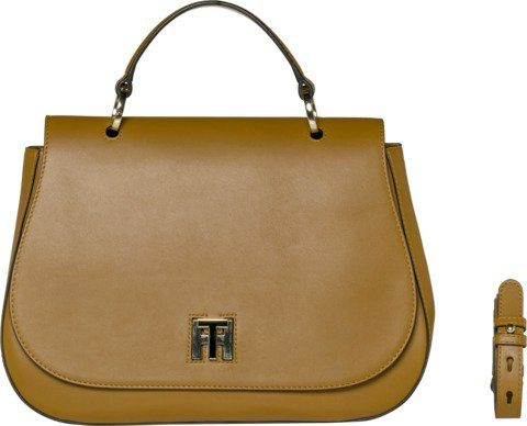 Tommy Hilfiger Tasche »TH TWIST LEATHER MED SATCHEL«
