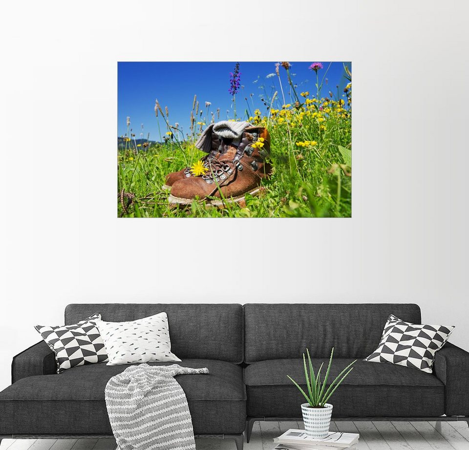 posterlounge wandbild bildpics wandern allg u alpen online kaufen otto. Black Bedroom Furniture Sets. Home Design Ideas