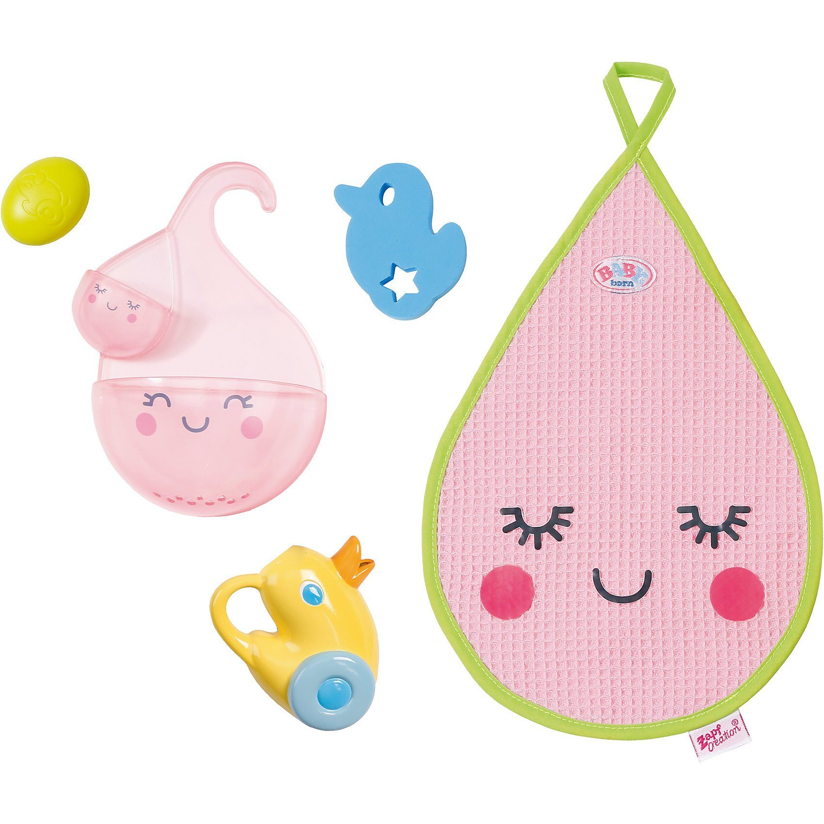 Zapf Creation® BABY born® Bade-Accessoires