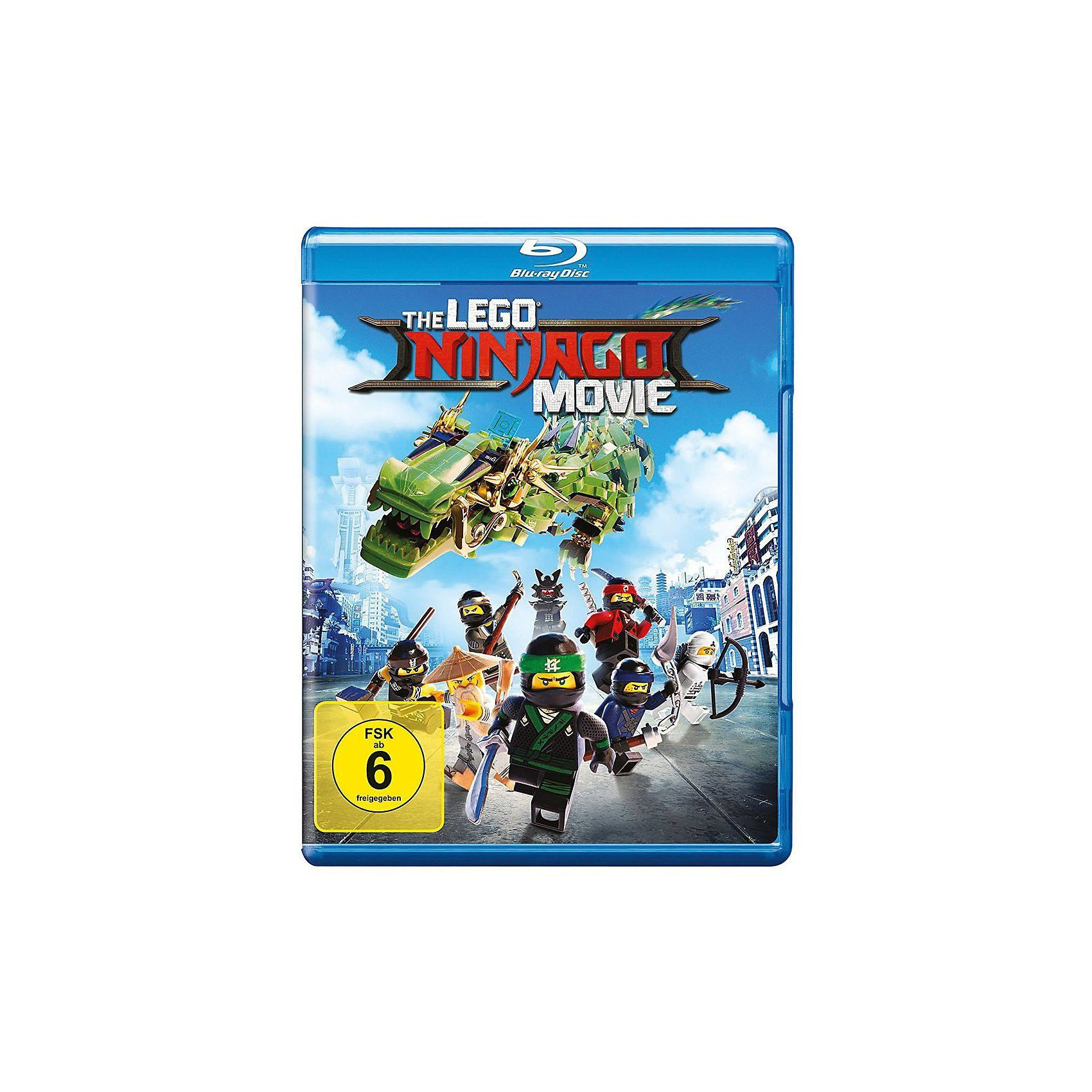 Warner Home Video BLU-RAY The LEGO Ninjago Movie