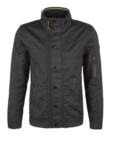 s.Oliver RED LABEL Jacke aus beschichtetem Canvas