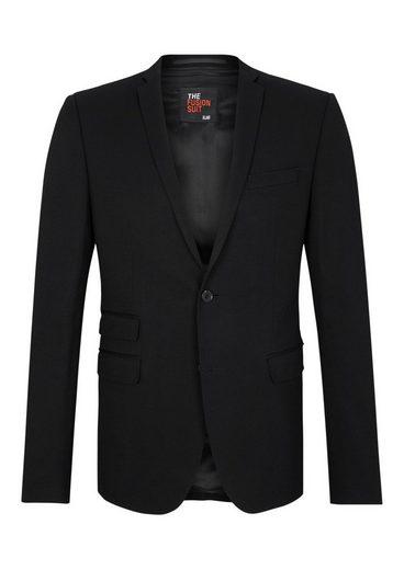 s.Oliver BLACK LABEL Fusion Suit Slim:Interlock-Sakko