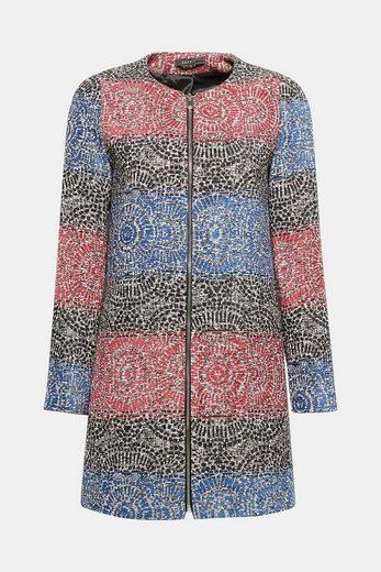 Manteau Esprit Jacquard Coton Collection