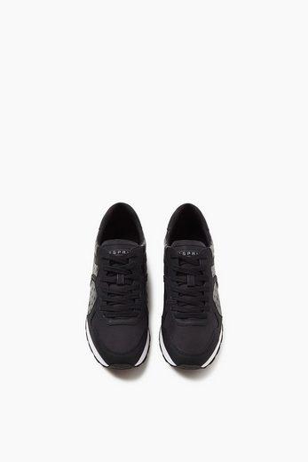 ESPRIT Trend-Sneaker mit coolem Stern-Print