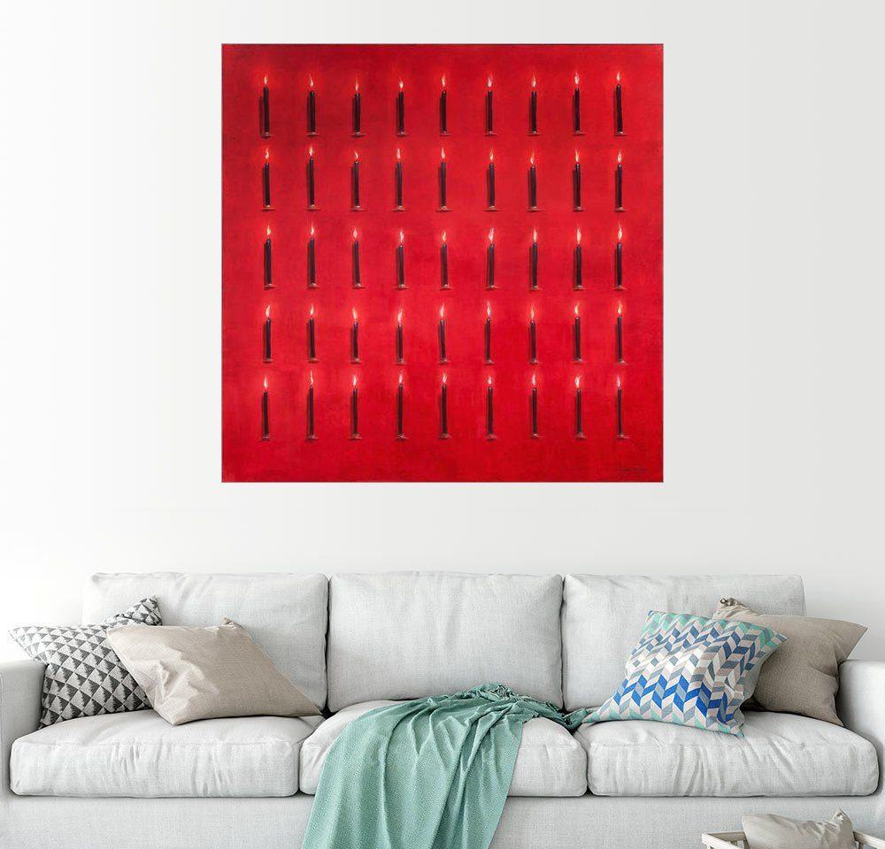 Posterlounge Wandbild - Lincoln Seligman »Fünfundvierzig Kerzen«