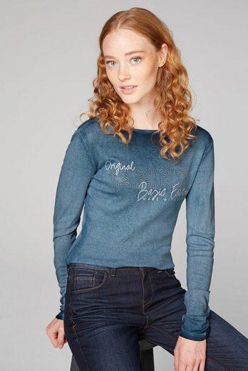 SOCCX Langarmshirt aus Baumwolle