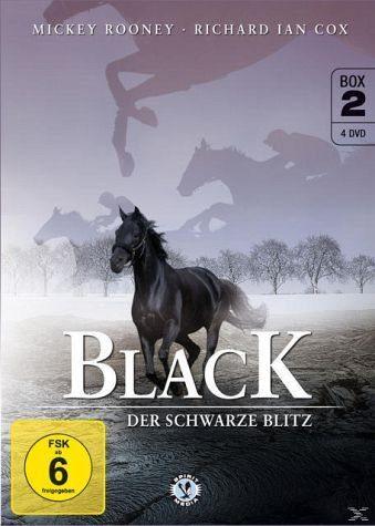 DVD »Black - Der schwarze Blitz DVD 2 (4 Discs)«