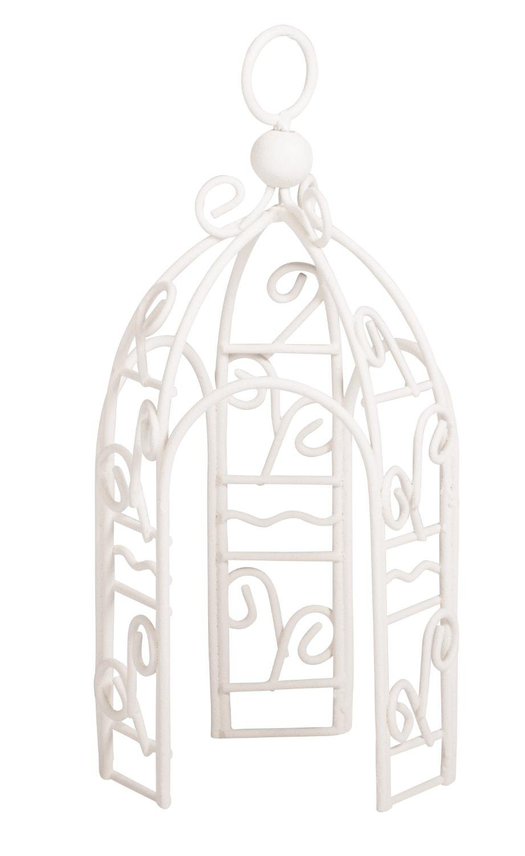 Nano-Pavillon ´´Rotunde weiß´´ 12,5 cm x 6 cm Durchmesser