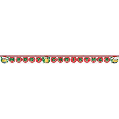 "Kunstgirlande »Girlande Minions Christmas ""Merry Christmas"", 1«, Procos"