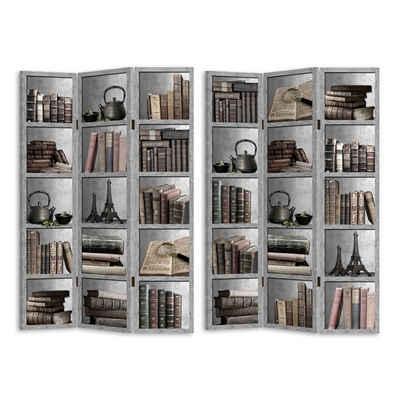 HTI-Line Paravent »Paravent Bücherregal« (1 Stück), Nur für den Innenbereich geeignet
