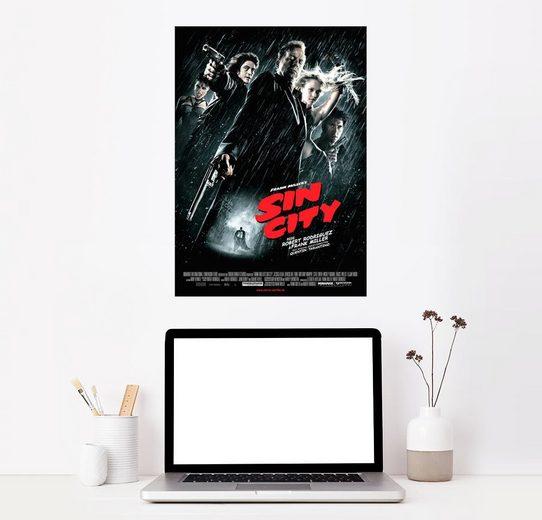 Posterlounge Wandbild »Sin City«