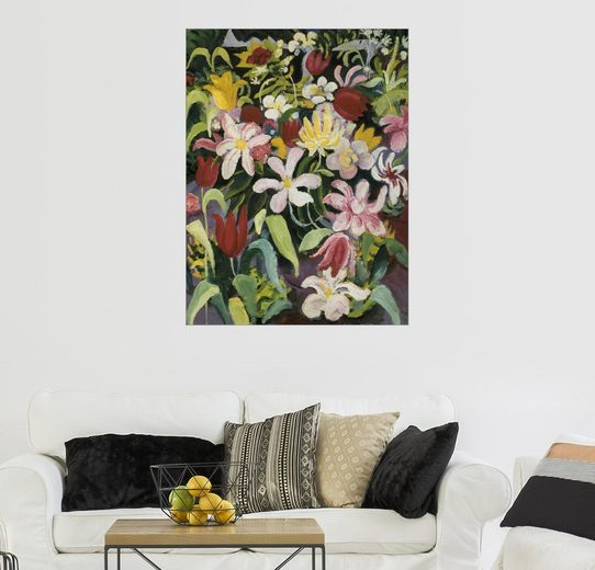 Posterlounge Wandbild - August Macke »Blumenteppich«