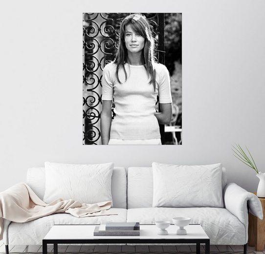 Posterlounge Wandbild »Francoise Hardy«
