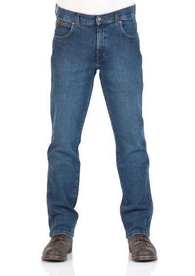 Wrangler Straight-Jeans »Texas« Jeanshose mit Stretchanteil
