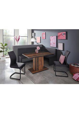 HELA Kampinis virtuvės suolas su kėdėmis »M...
