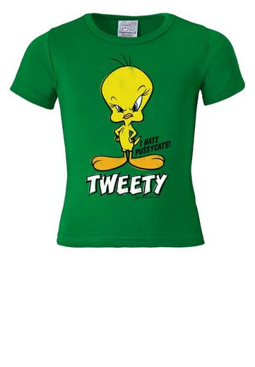 LOGOSHIRT T-Shirt mit Vogel-Print »Tweety - I Hate Pussycats«