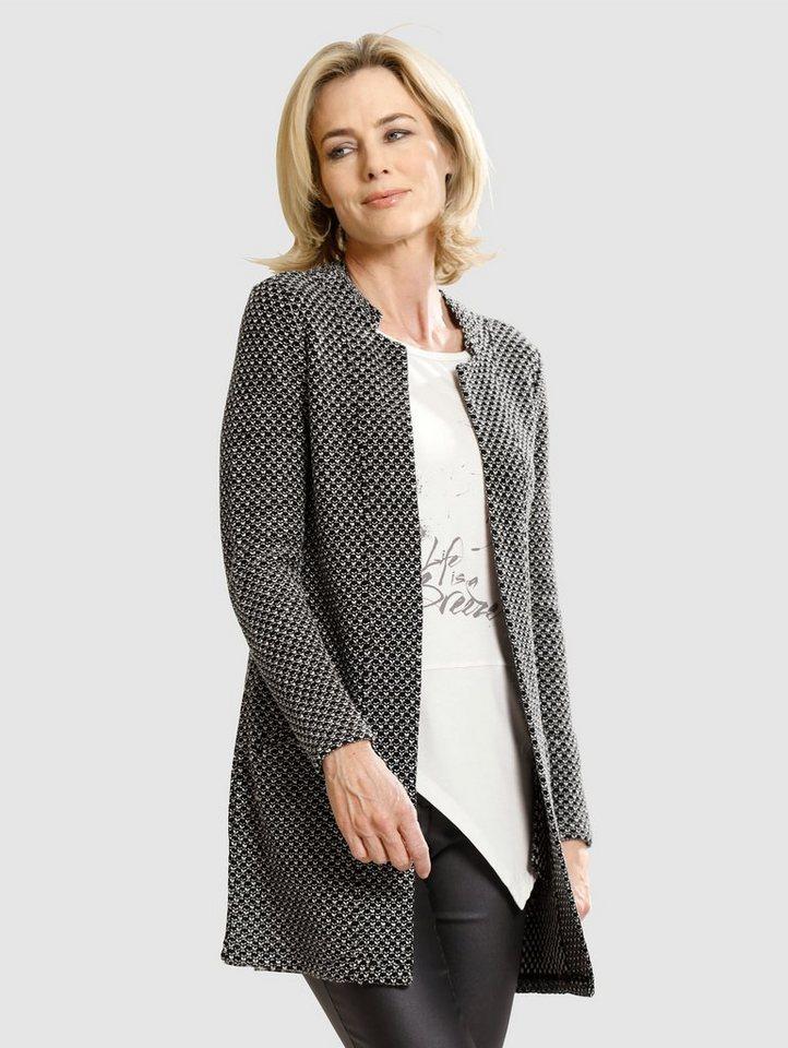 dress in -  Cardigan in strukturierter Qualität